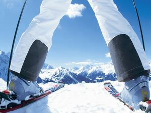 Обои Горные лыжи