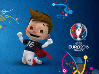 Обои для рабочего стола: Чемпионат Европы по футболу 2016, Франция