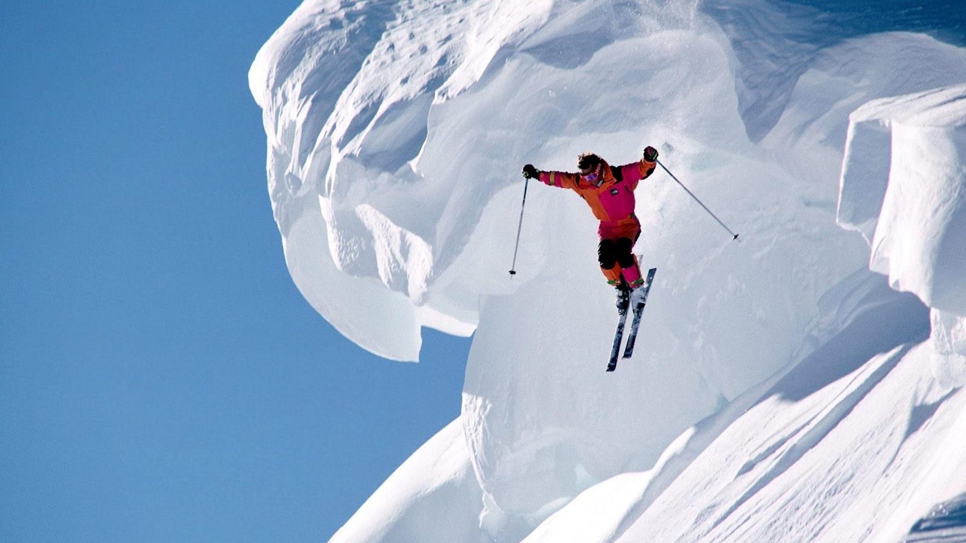 Горный лыжник