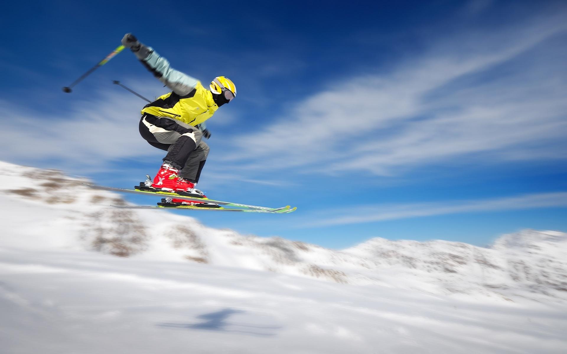 Обои Лыжи. Спорт foto 13