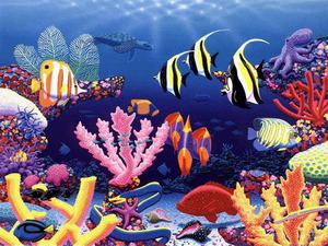 Обои Подводное царство