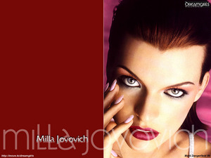 Обои Мила Йовович (Mila Jovovich)