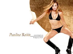 Обои Паулина Рубио (Paulina Rubio)