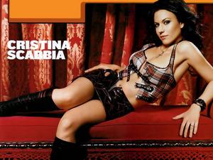 Обои Кристина Скаббиа (Cristina Scabbia)