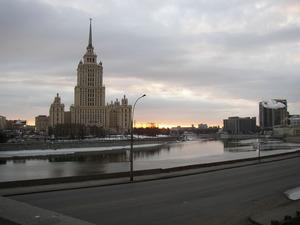 Обои Гостиница «Украина», Москва