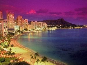 Обои Гавайи, пляж Waikiki