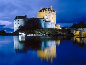 Обои Замок Эйлен Донан (Eilean Donan Castle), Шотландия