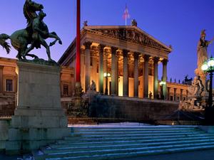 Обои Здание Парламента, Вена