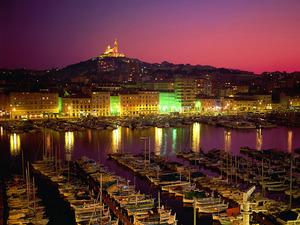Обои Старый порт, Марсель