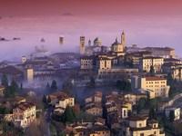 Обои для рабочего стола: Бергамо, Ломбардия, Италия