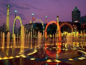 Обои Сентенниал Олимпик парк, Атланта, США