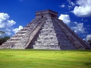 Обои Пирамида Кукулькана, Мексика