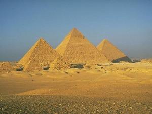 Обои Гиза, Египет, комплекс пирамид