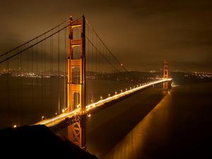 Обои «Золотые Ворота», Сан-Франциско