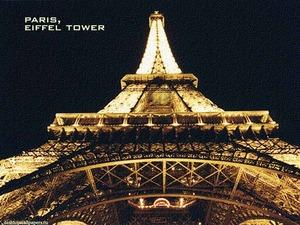 Обои Эйфелева башня, Париж