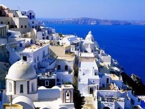 Обои Санторини, Греция