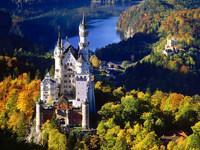 Обои для рабочего стола: Нойшванштайн, Бавария