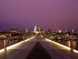 Обои Millennium Bridge (London)
