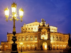 Обои Оперный театр, Дрезден