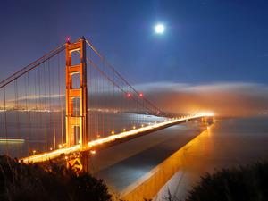 Обои Мост Золотые ворота (Сан-Франциско)