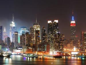 Обои Манхеттен, Нью-Йорк