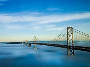 Обои Oakland Bay Bridge, San-Francisco