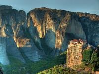 Обои для рабочего стола: Греция, монастырь Метеоры