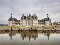 Обои для рабочего стола: Замок Шамбор, Франция