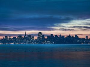 Обои Панорама Сан-Франциско