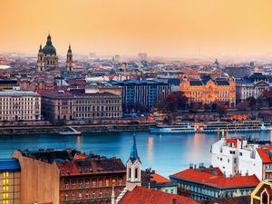 Обои Дунай, Будапешт, Венгрия
