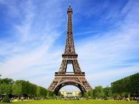 Обои для рабочего стола: Эйфелева башня, Париж