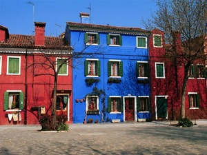 Обои Бурано, Венеция, Италия