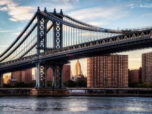 Обои Манхэттенский мост, Нью-Йорк