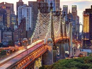 Обои Мост Куинсборо, Нью-Йорк, США