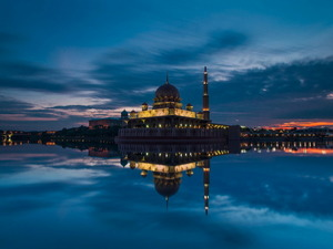 Обои Мечеть Путра, Малайзия