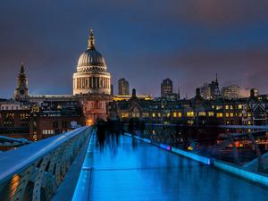 Обои Millennium Bridge, London