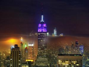 Обои Ночной Нью-Йорк, США