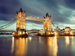 Обои Тауэрский мост, Лондон, Великобритания