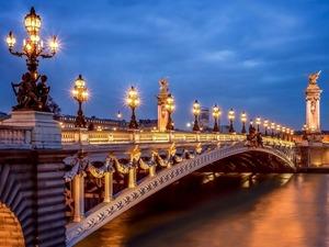 Обои Мост Александра 3, Париж