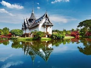 Обои Sanphet Prasat Palace, Ayutthaya, Thailand