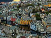 Обои для рабочего стола: Олесунн, Норвегия
