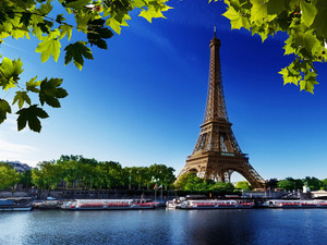 Обои Эйфелева башня, Париж, Франция