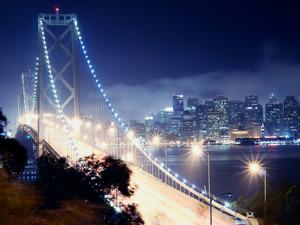 Обои Мост Окленд Бэй Бридж, Сан-Франциско