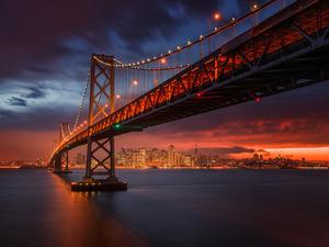 Обои Мост Золотые ворота, Сан-Франциско, США