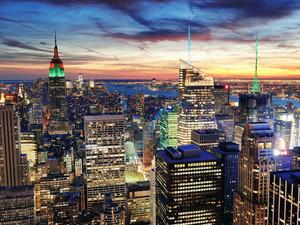 Обои Манхеттен, Нью-Йорк, США