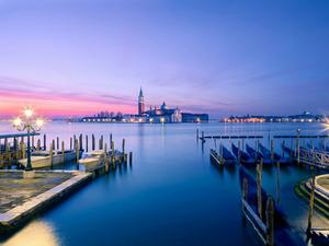 Обои Вечер в Венеции