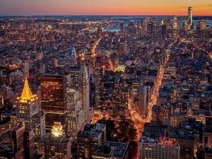 Обои Вечерний Нью-Йорк