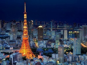 Обои Токийская телебашня, Япония