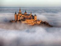 Обои для рабочего стола: Замок Гогенцоллерн, Германия