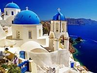 Обои для рабочего стола: Санторини, Греция